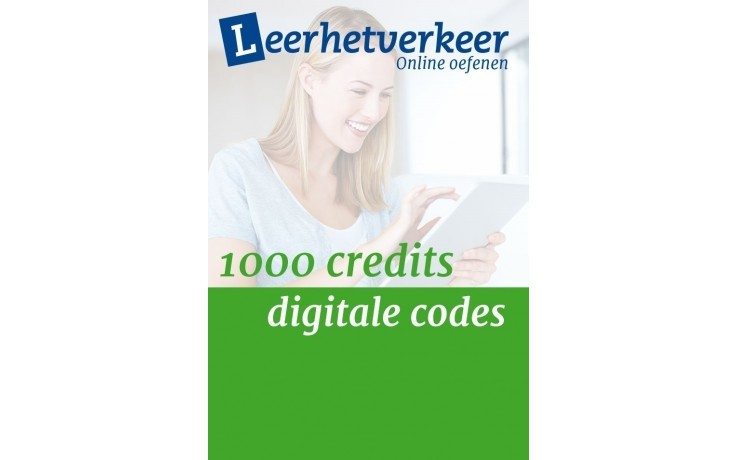 Digitale codes  per mail 1000 credits