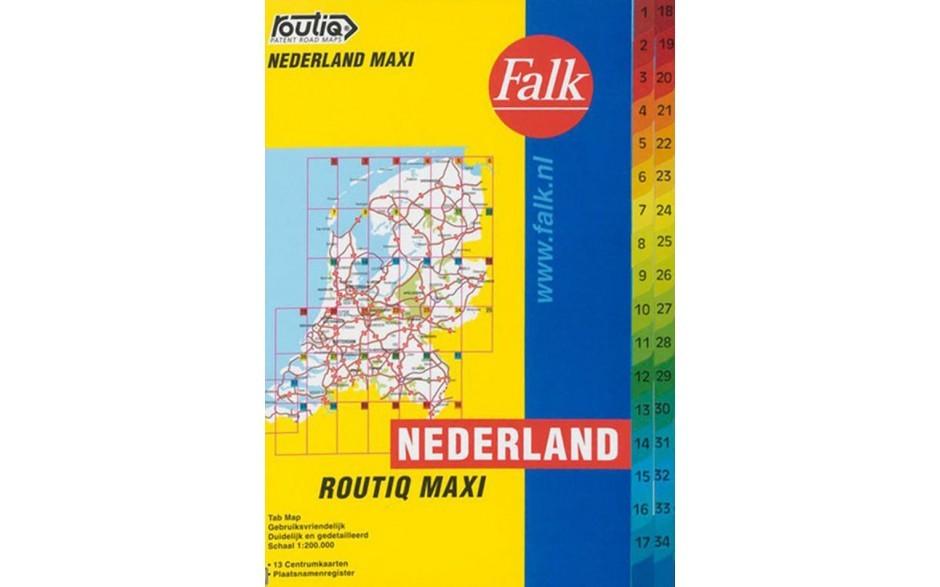 Routiq kaart van Nederland