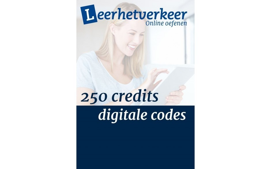 Digitale codes per mail 250 credits