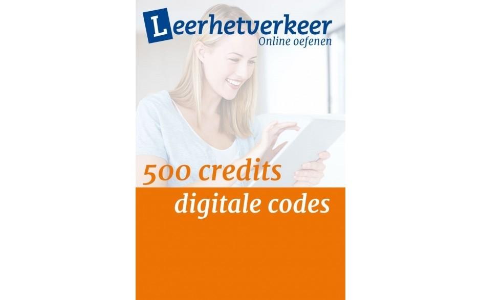 Digital codes per 500 credits