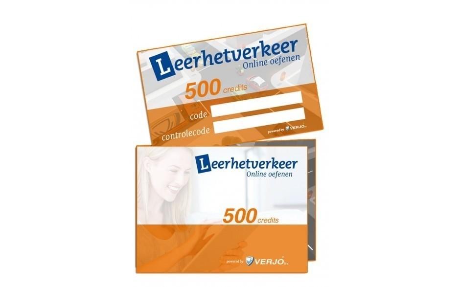 Theorycard 500 credits