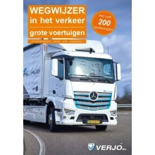 Wegwijzer verkeer grote voertuigen C(1)/D(1)/code95