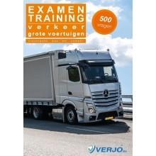 Examentraining verkeer grote voertuigen 500 vragen