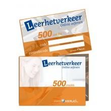 Theoriekaart 500 credits